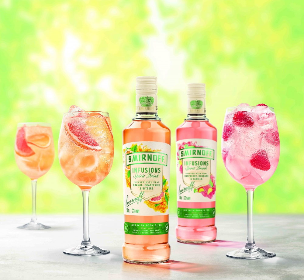 SMIRNOFF Infusions launches for Summer serves