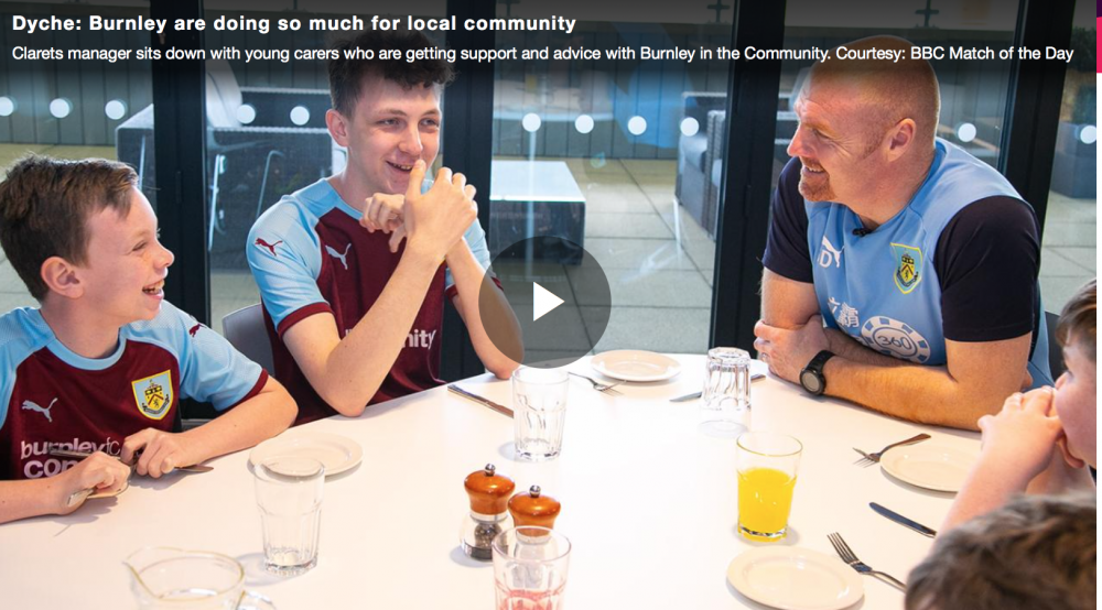 Burnley FC's community kitchen helps carers