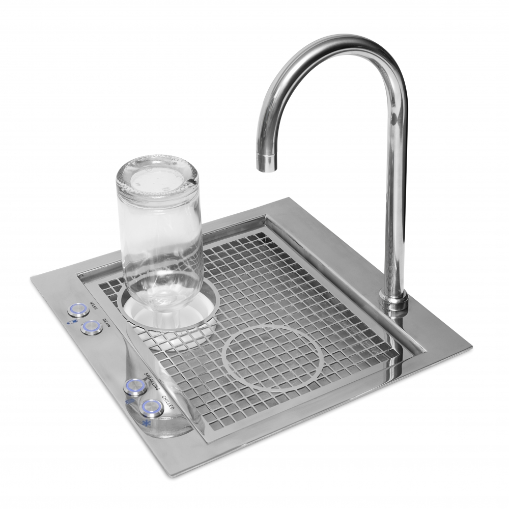 Image for HYDREAUBAR STERILISES WATER AS WELL AS FILLS