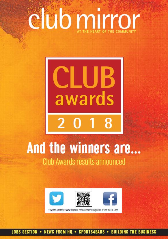 Image for Awards issue of Club Mirror