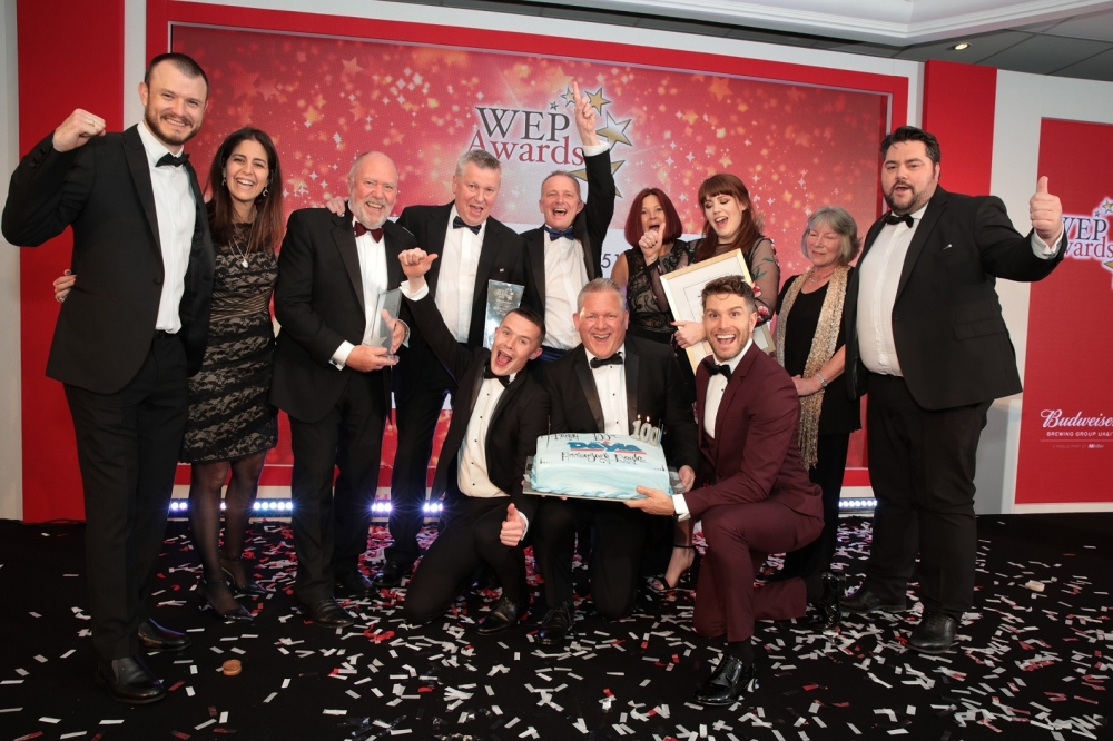 Dayla Drinks wins Best of Best trophy at Budweiser Awards