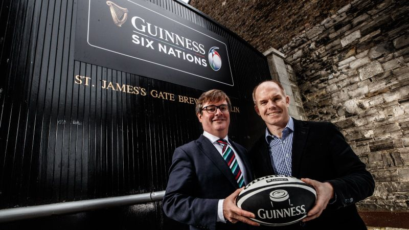 Guinness announced as title sponsor of Six Nations