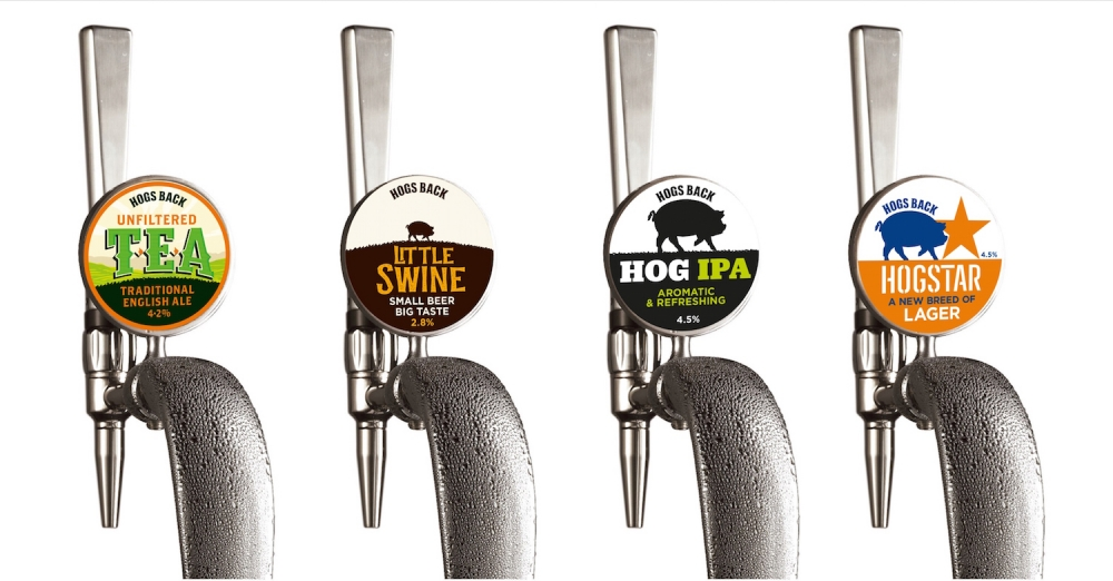 Hogs Back Brewery launches new keg range