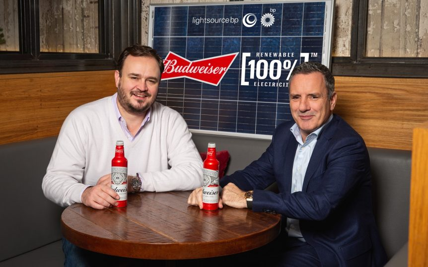 Image for Budweiser signs renewable electricity deal in UK