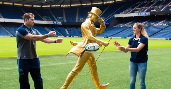 Image for Johnnie Walker becomes Official Whisky of Scotland Rugby