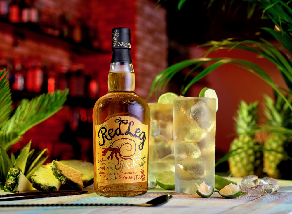 Image for RedLeg Caramelised Pineapple spiced rum launches
